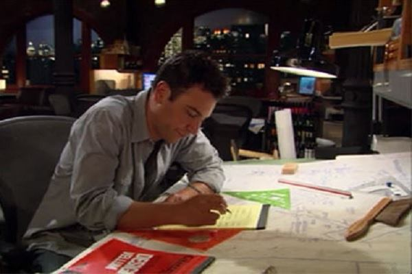 Ted Mosby, protagonista. Fonte: Architect Magazine